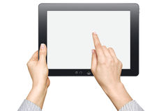 Touch screen device Royalty Free Stock Photography