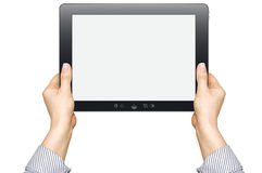 Touch screen device Royalty Free Stock Photo