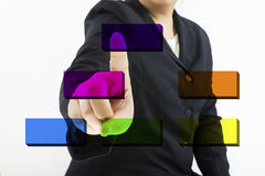 Touch screen Royalty Free Stock Photography