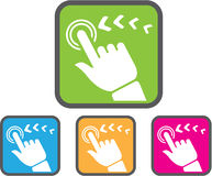 Touch Screen icon Stock Photos