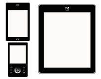 Touch Screen intelligente Telefon-Tablette MP4 Lizenzfreie Stockfotos