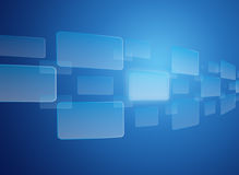 touch screen interface background Stock Photo