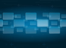 Touch screen interface background. Button touch screen interface background Royalty Free Stock Photo