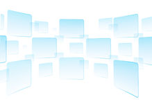 Touch screen interface white. Button touch screen interface background Stock Photography