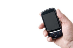 Touch screen mobile phone Royalty Free Stock Photography