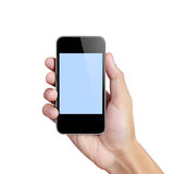 Touch screen mobile phone Stock Photos