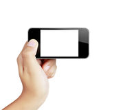 Touch screen mobile phone Royalty Free Stock Photo