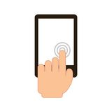 Touch screen Stock Photography