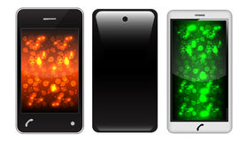 Touch Screen Phone Royalty Free Stock Image