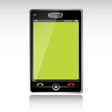 Touch screen phone Royalty Free Stock Images