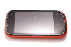 Touch screen phone Royalty Free Stock Photos