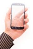 Touch screen rotto del telefono Immagini Stock