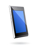 Touch screen smart phone. Isolated key less mobile phone with wide screen Stock Photography