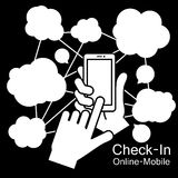 touch screen Smart Phone Royalty Free Stock Photos