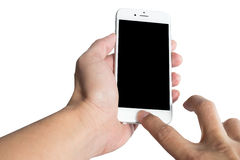 Touch screen smart phone Stock Photography