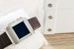 Touch screen smart watches Royalty Free Stock Photo