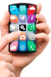 Touch screen smartphone Royalty Free Stock Photography