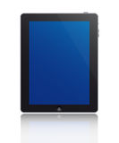 Touch screen tablet. A touch screen tablet isolated on white background Royalty Free Stock Images