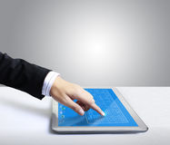 Touch screen Tablet Stock Images