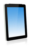 Touch screen tablet computer Royalty Free Stock Images