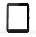 Touch screen tablet computer with blank screen Royalty Free Stock Photography