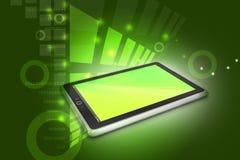 Touch screen tablet computer Stock Photos