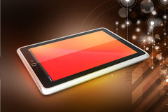 Touch screen tablet computer Royalty Free Stock Photo