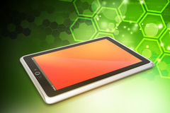 Touch screen tablet computer Stock Images