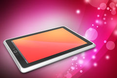 Touch screen tablet computer Royalty Free Stock Photography