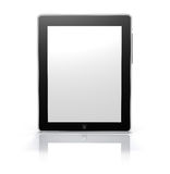 Touch screen tablet monitor (Clipping Path) Royalty Free Stock Photography