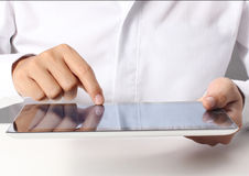 Touch screen tablet Royalty Free Stock Images