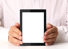 Touch screen tablet Royalty Free Stock Photos