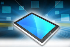 Touch Screen Tablettecomputer Stockbilder