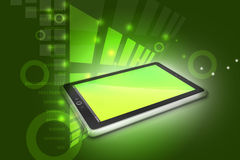 Touch Screen Tablettecomputer Stockfotos