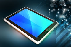 Touch Screen Tablettecomputer Lizenzfreie Stockbilder