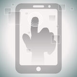 Touch Screen Technology Stock Images