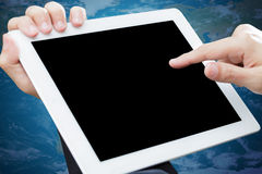 Touch tablet computer Royalty Free Stock Photos