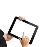 Touch tablet computer Royalty Free Stock Image