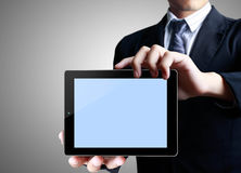 Touch tablet concept Stock Photos