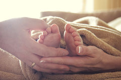 A touch of tenderness Stock Image