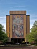 Touchdown Jesus Royalty Free Stock Photos
