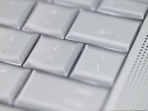 Touche d'effacement de clavier Image libre de droits
