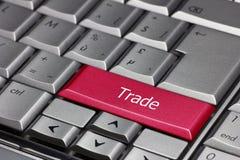 Touche d'ordinateur - le commerce Photo stock