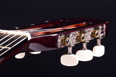 Touche de guitare classique Images stock