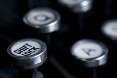 Touche de positionnement du clavier avec verrouillage images libres de droits