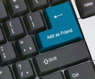 Touche directe pour des amis Photos stock