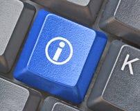 Touche directe pour obtenir l'information de système Image stock