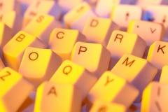 Touches d'ordinateur Photo libre de droits