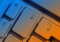 Touches de déplacement du curseur d'ordinateur