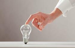 touches för handlampa royaltyfria foton